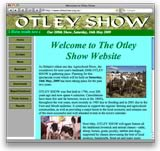 Otley Show website