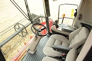 Case Axial-Flow combine cab