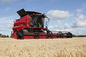 Case Axial-Flow combine