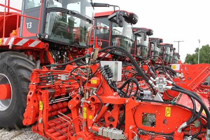 holmer terra dos t3 eco self propelled sugar beet harvester