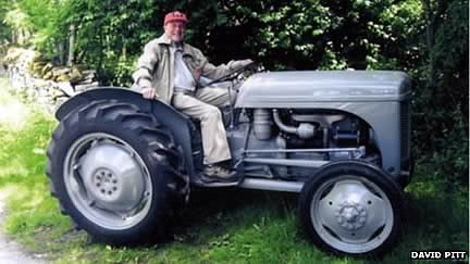 Charity Tractor Convoy To Conquer Morecambe Sands