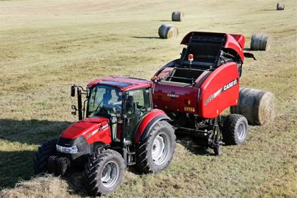 New Generation of Round Balers from Case IH