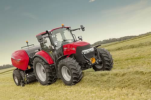 New Case IH Tractors and Upgraded Round Balers