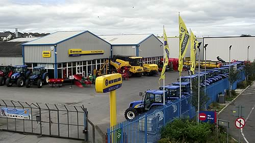 New Holland Dealership : M s machinery to be new holland harvester dealer